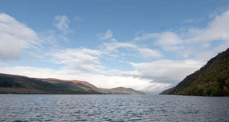 ness: Beautiful view of the Loch Ness at water level Stock Photo