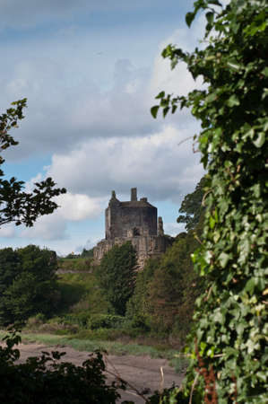 Ravenscraig Castle in Kirkaldy, Scotland Editorial