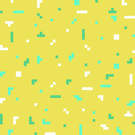 web2: abstract geometric digital pixel art background template