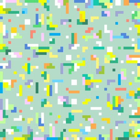 abstract geometric digital pixel art background template