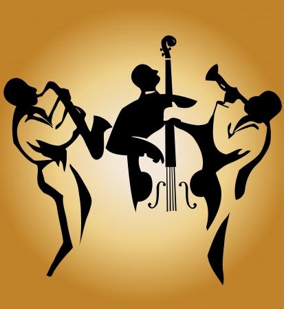 saxofón: Trío de Jazz