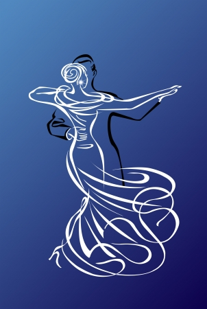 formal blue: Ballroom Dance