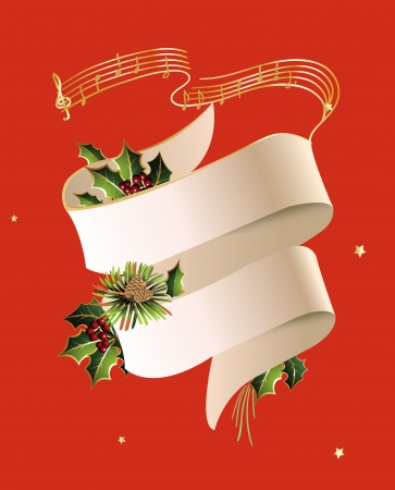 Christmas Concert 向量圖像