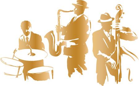 재즈 트리오 스톡 콘텐츠 - 24055566
