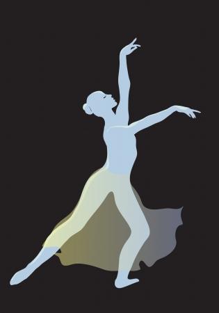 ballerina shoes: Modern ballet dancer