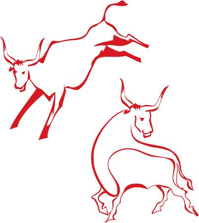 head shape: Bull