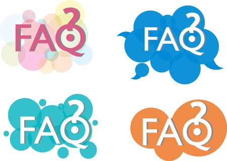 questions: Frequently asked questions Illustration