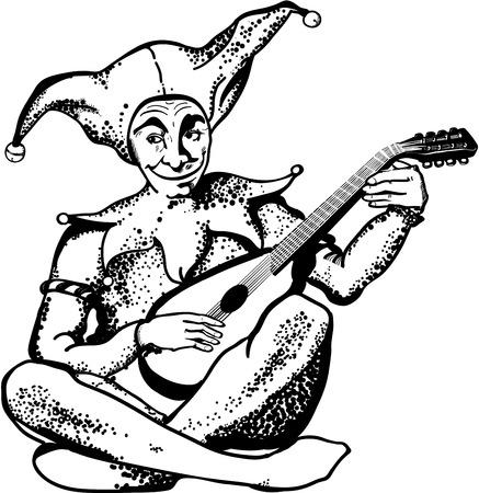 minstrel: Jester Illustration