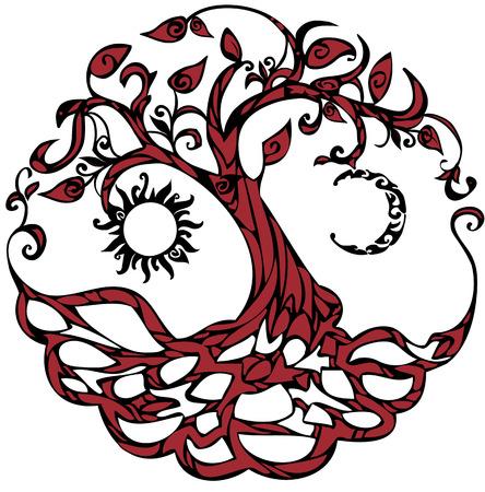 hojas de arbol: �rbol de la Vida