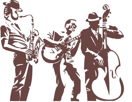 saxofón: Los músicos de jazz