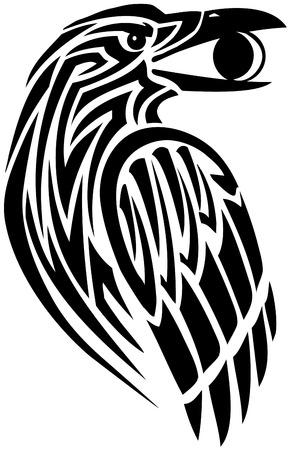corvo imperiale: Raven possesso di una luna