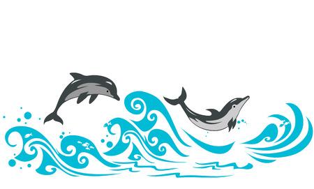 Dolphins 向量圖像