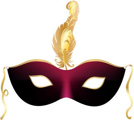 Carnaval partij masker
