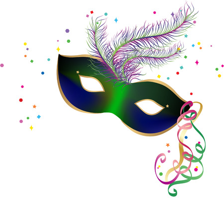 New Year Party Carnaval masker