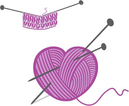 needlecraft: Knitting