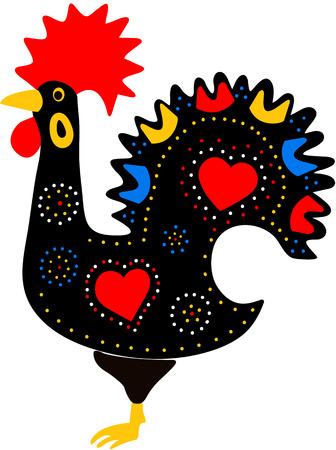Rooster Portuguese folk