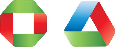 mobius symbol: Mebius infinite strip