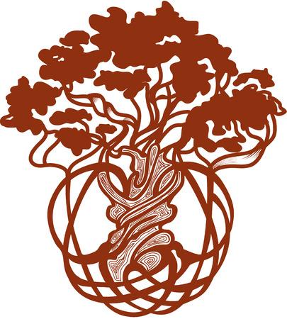 celtic symbol: World Tree