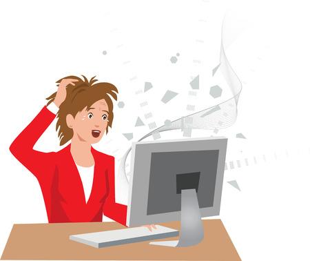 Caída del ordenador pérdida de datos /