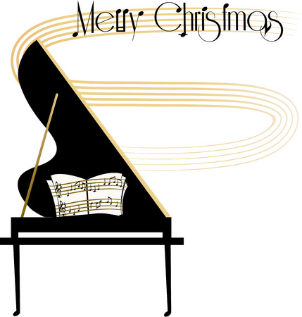 Kerstconcert aankondiging