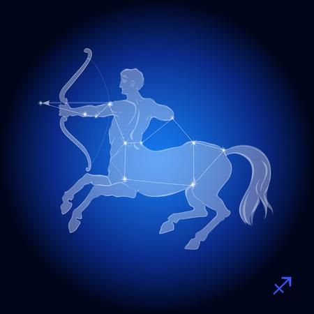 Boogschutter Constellation, astrologisch teken