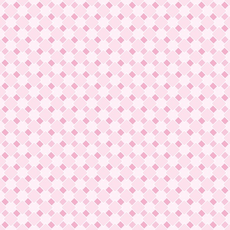 Vector sweet pink and white retro background for website, wallpaper, desktop, invitation, wedding, baby shower or birthday card and scrapbook. Seamless pattern in pastel baby pink. Vector
