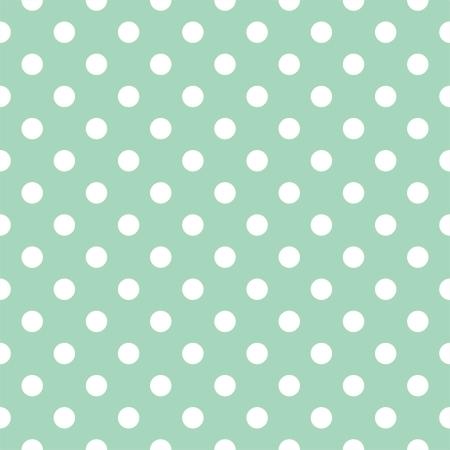 Vector naadloze patroon met witte stippen op een retro achtergrond. Voor kaarten, uitnodigingen, bruiloft of baby shower albums, achtergronden, kunst en plakboeken.