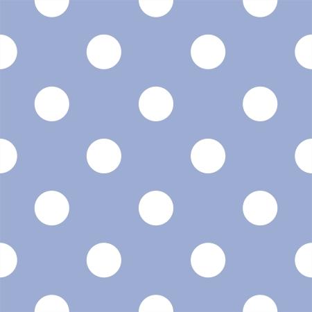 grande e piccolo: seamless con enormi polka puntini bianchi su sfondo blu bambino retr�. Per gli album doccia cartoline, inviti, matrimonio o bambino, sfondi, arti e album Vettoriali
