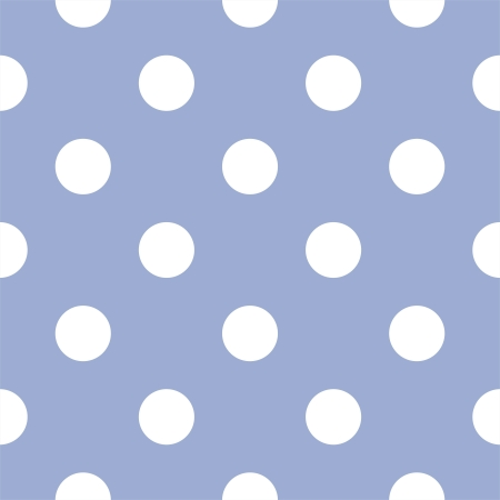 blue spotted: seamless pattern with huge white polka dots on a retro baby blue background. For cards, invitations, wedding or baby shower albums, backgrounds, arts and scrapbooks