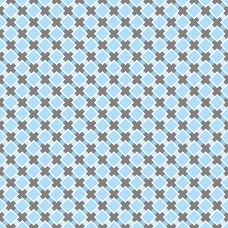 Vector sweet big blue and dark grey background for website, wallpaper, desktop, invitations, wedding or birthday card and scrapbook. Seamless retro pattern. Vector