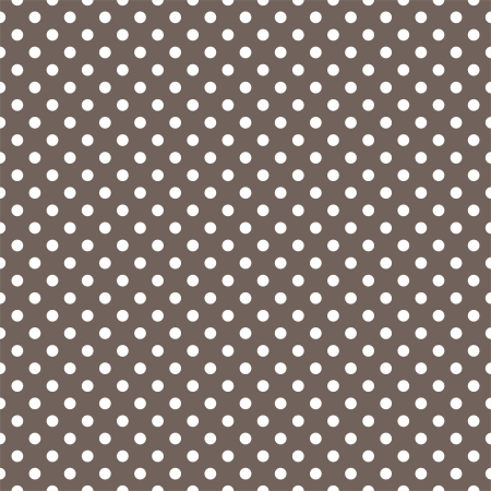 brown: seamless pattern with small white polka dots on a dark brown background. For cards, invitations, wedding or baby shower albums, backgrounds, arts and scrapbooks.