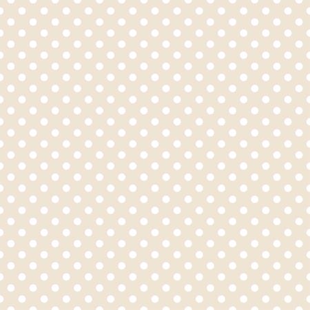 Witte stippen op licht beige, neutrale achtergrond - retro naadloze patroon voor achtergronden, blogs, www, plakboeken, feest of baby shower uitnodigingen en elegante trouwkaarten.
