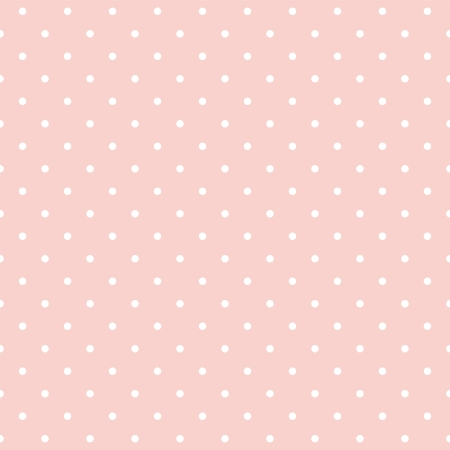 pale: seamless pattern with small white polka dots on a pastel pink background. For cards, albums, backgrounds, arts, crafts, fabrics, decorating or scrapbooks.