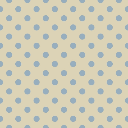 Pastel blue polka dots on light beige, neutral background - retro seamless  pattern for backgrounds, blogs, www, scrapbooks, party or baby shower invitations and elegant wedding cards. Stock Vector - 15162610