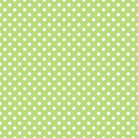 seamless pattern a pois bianchi su un retro fresca, erba sfondo verde primavera. Per gli album doccia carte, inviti, matrimonio o per bambini, sfondi, arte e album. Vettoriali