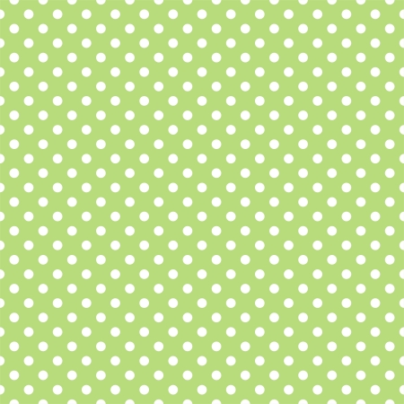 seamless pattern with white polka dots on a retro fresh, spring grass green background. For cards, invitations, wedding or baby shower albums, backgrounds, arts and scrapbooks. Vector
