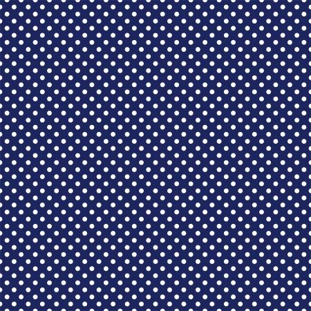 azul marino: patr�n transparente con lunares blancos sobre un fondo marino azul marino oscuro.