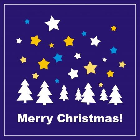 granatowy: Navy tło wektor niebieski, karty lub zaproszenia z Wesołej życzenia świąteczne