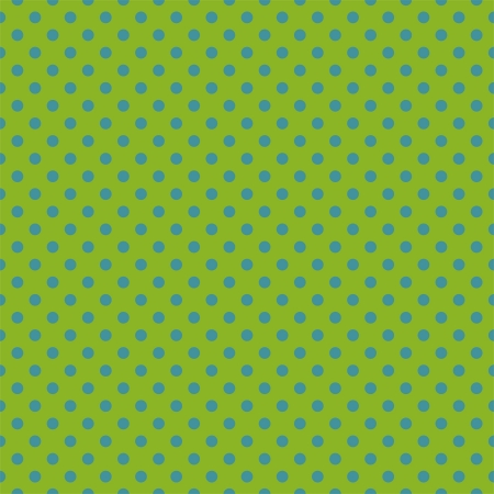 seamless pattern with neon blue polka dots Vector