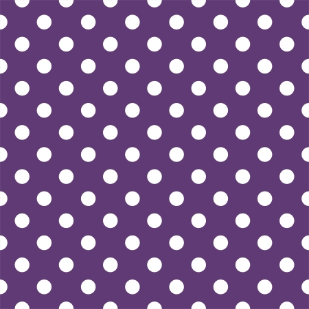 Vector seamless pattern with white polka dots Vector