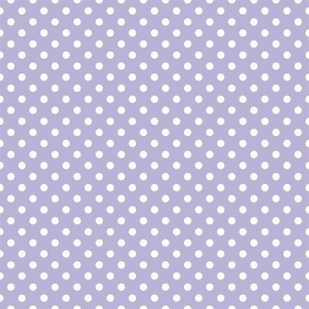 Lunares blancos sobre fondo violeta - Patrón de retro sin fisuras vector para los fondos, blogs, álbumes de recortes, WWW, invitaciones a fiestas o Baby Shower y tarjetas elegantes de la boda.