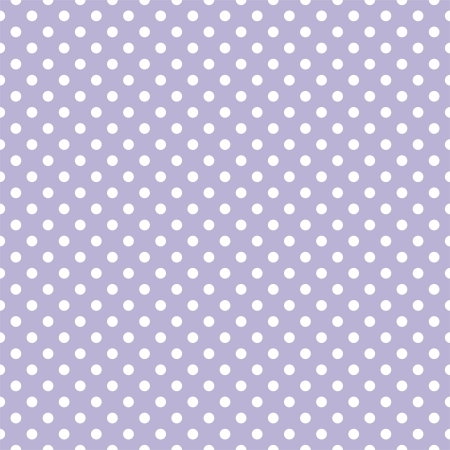 polka dots: White polka dots on light violet background - retro seamless vector pattern for backgrounds, blogs, www, scrapbooks, party or baby shower invitations and elegant wedding cards. Illustration