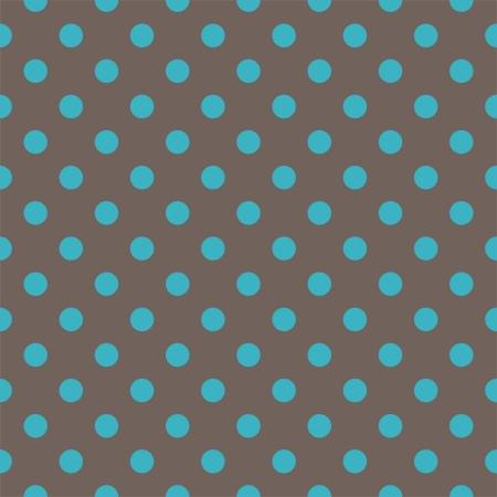 bez szwu deseniu z butelek niebieskich kropek polka na ciemnym tle brązowy. Tekstury dla karty, zaproszenia, albumy ślubne lub dziecko prysznicem, tła, sztuki i albumy. Ilustracja