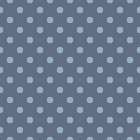 Vector seamless pattern with polka dots on a sailor navy blue background. Texture for cards, invitations, wedding or baby shower albums, christmas or website background, arts and scrapbooks. Vector