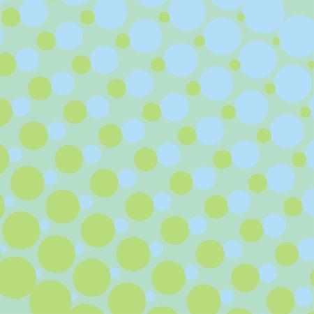 Wektor tła z wielkim i małym niebieskim i mięty zielonej kropki. Dla kart, albumy, tła, sztuka, rzemiosło, tkaniny dekoracyjne lub wyklejania. Ilustracja