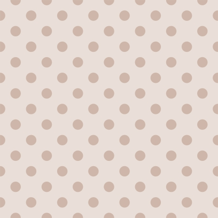 Pastello pois su beige chiaro, sfondo neutro - retrò modello vettoriale senza soluzione di continuità