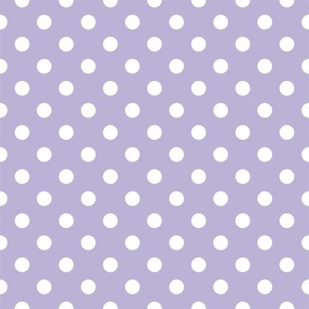 Małe białe kropkowany na jasnym fioletowym tle