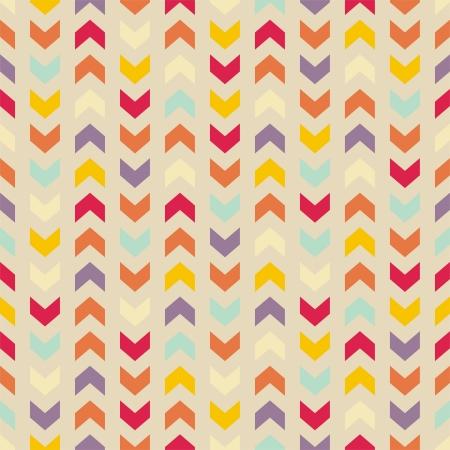 Aztec Chevron szwu kolorowy wzór, tekstury lub tła z paskami zygzakiem. Thanksgiving tło, tapety na pulpit lub projekt strony internetowej