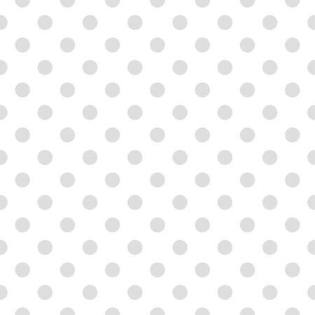 Pequeños puntos grises lunares sobre fondo blanco - modelo retro o textura para los fondos, blogs, diseño web, de escritorio, libros de recuerdos, invitaciones a fiestas o Baby Shower y tarjetas elegantes de la boda. Foto de archivo - 18072054