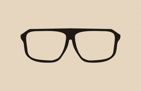 eyewear fashion: black hipster glasses